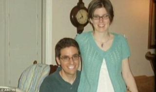 Nicole Solomon with her husband